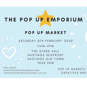 Pop Up Market - Hastings Old Town