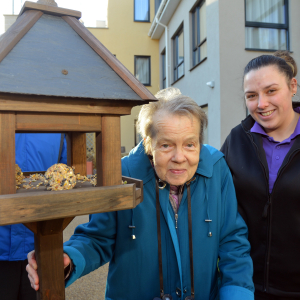 Epsom care home residents spread their wings to celebrate the best of British birds