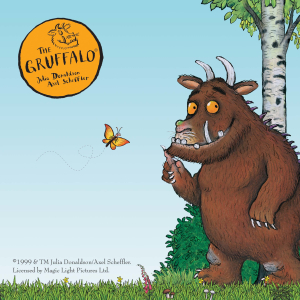 Meet The Gruffalo at Drusillas