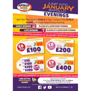 Monday and Wednesday Evenings at Apollo