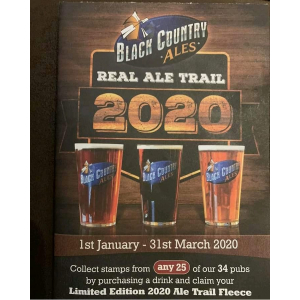 Black Country Ales Real Ale Trail 2020 at The Black Country Arms