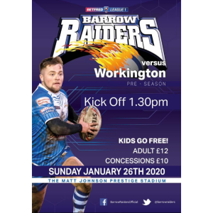 Barrow Raiders vs Workington