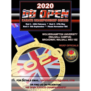 2020 GB Open Karate Championship Series