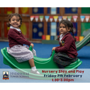 Hydesville Nursery Stay & Play session