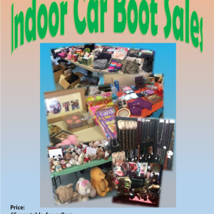 Indoor Boot Sale