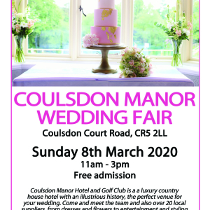 Coulsdon Manor Wedding Fair