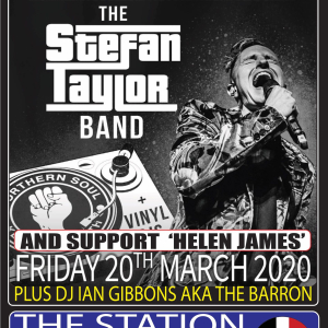 Soul at The Station with The Stefan Taylor band and support