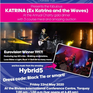 Events and Stuff South West Charitable Trust present Katrina - ex Katrina and the Waves!