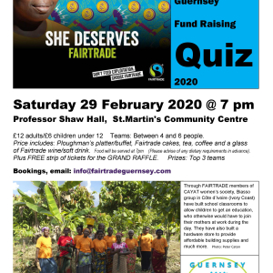 Fairtrade Quiz