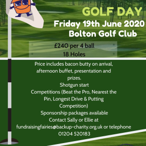 BACKUP North West Annual Charity Golf Day
