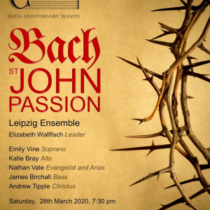Croydon Bach Choir 60th Anniversary Concert