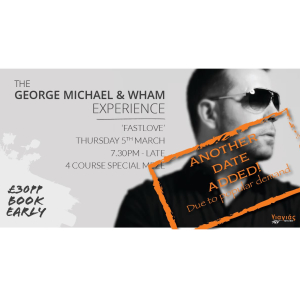 Back due to popular demand! The George Michael & Wham Experience