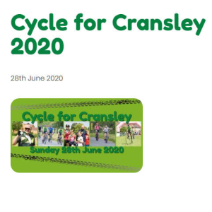 Cycle for Cransley 2020
