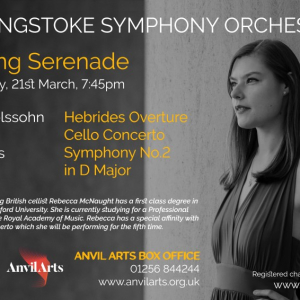 Basingstoke Symphony Orchestra is back with: Spring Serenade