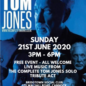 The Complete Tom Jones Solo Tribute Act LIVE at the Bridgtown Social Club