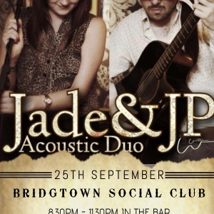 Jade & JP Acoustic Duo LIVE at the Bridgtown Social Club