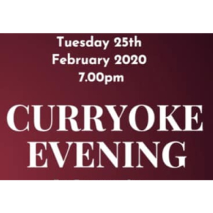 Curryoke Evening with The #EpsomMayor @EEEpsomMayorsCharity
