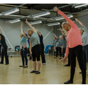 MOVING TOGETHER Over 55s Dance Classes