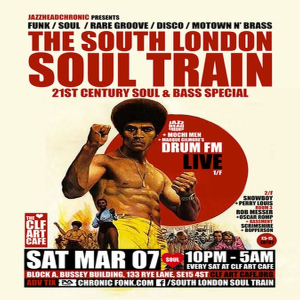 The South London Soul Train Soul and Bass Special with Drum-FM (Live)