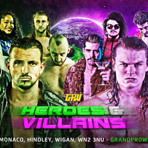 Grand Pro Wrestling- Heroes & Villains
