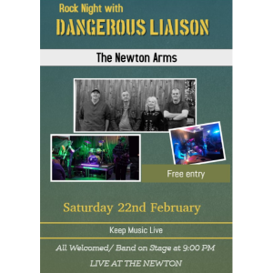 Dangerous Liason live at The Newton Arms