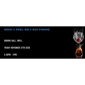 Epsom & Ewell Gin & Rum Evening at @BourneHall #Ewell