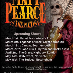 Matt and The Mutiny at Looe Blues Rhythm and Rock Festival - Looe