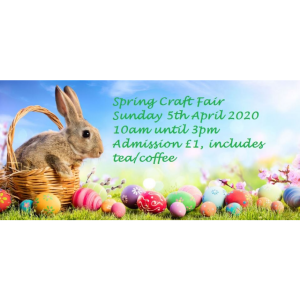 Spring Craft Fair at Hawcoat Park