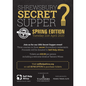 Shrewsbury Secret Supper