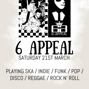 6 Appeal SKA Band Live at the Bridgtown Social