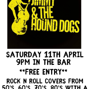 Jimmy & The Hound Dogs LIVE at the Bridgtown Social Club