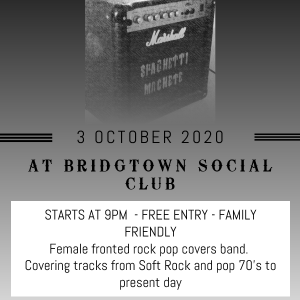 Spaghetti Machete LIVE at the Bridgtown Social Club