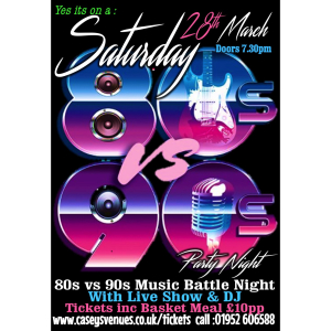 Battle of the Music 80's v 90's