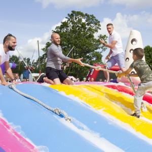 Teens Unite Its' A Knockout Family Fun Day