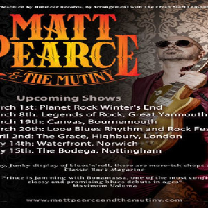 Matt Pearce and The Mutiny at The Bodega - Nottingham