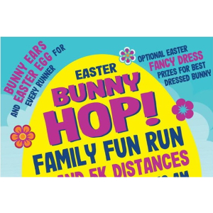 CANCELLED Easter Bunny Hop - #FamilyFunRun PLUS Dog Events for Age Concern #Epsom @AgeConcernEpsom