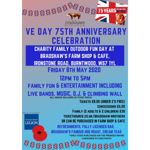 VE Day Celebration with Bradshaw's Farm Shop & Cafe