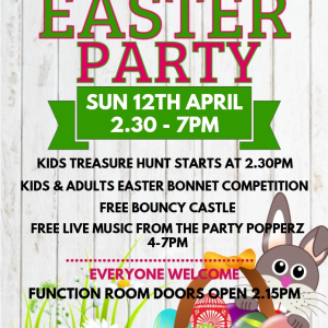 Easter Party at the Bridgtown Social Club