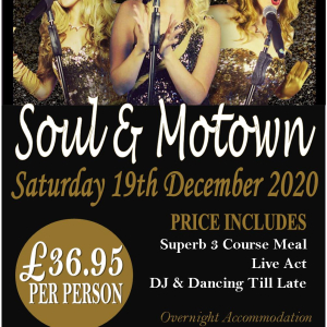 Soul and Motown Tribute Evening