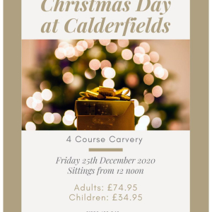 Christmas Day Carvery