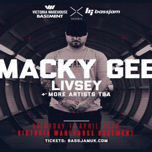 VW Basement X BassJam Presents: Macky Gee, Livsey + More TBA