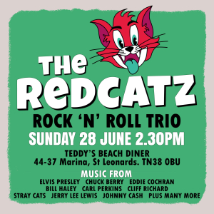 The Redcatz at Teddy's Beach Diner