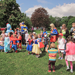 Superheroes Walk and Fun Day with @MomentumCharity