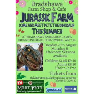 Jurassic Farm with Bradshaw's Farm Shop & Cafe