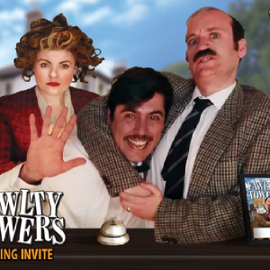 Fawlty Towers Comedy Dinner Show Clarion Cedar Court Wakefield Hotel