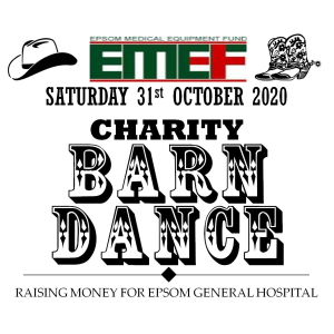 REARRANGED for OCTOBER Epsom Medical Equipment Fund Charity Barn Dance @epsom_sthelier