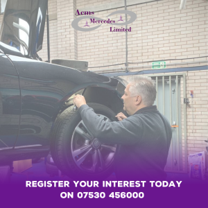 Register your interest now for superior servicing with ACMS Mercedes