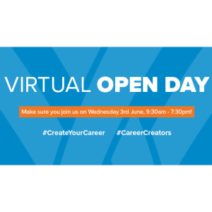 Create Your Career at South Staffordshire College's Virtual Open Day