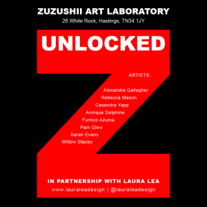UNLOCKED - An Art Exhibition at ZUZUSHII ART LABORATORY