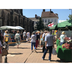 Market Days in Lichfield